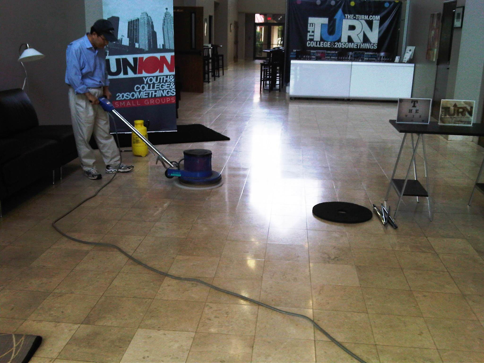 3 areas of commercial cleaning for Floor cleaning
