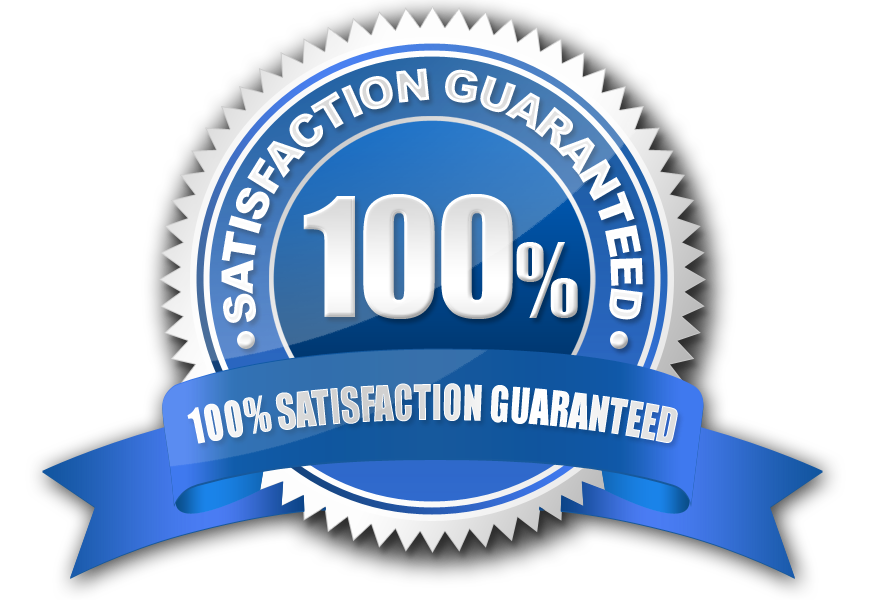 the service fort quality and satisfaction guarantee seal