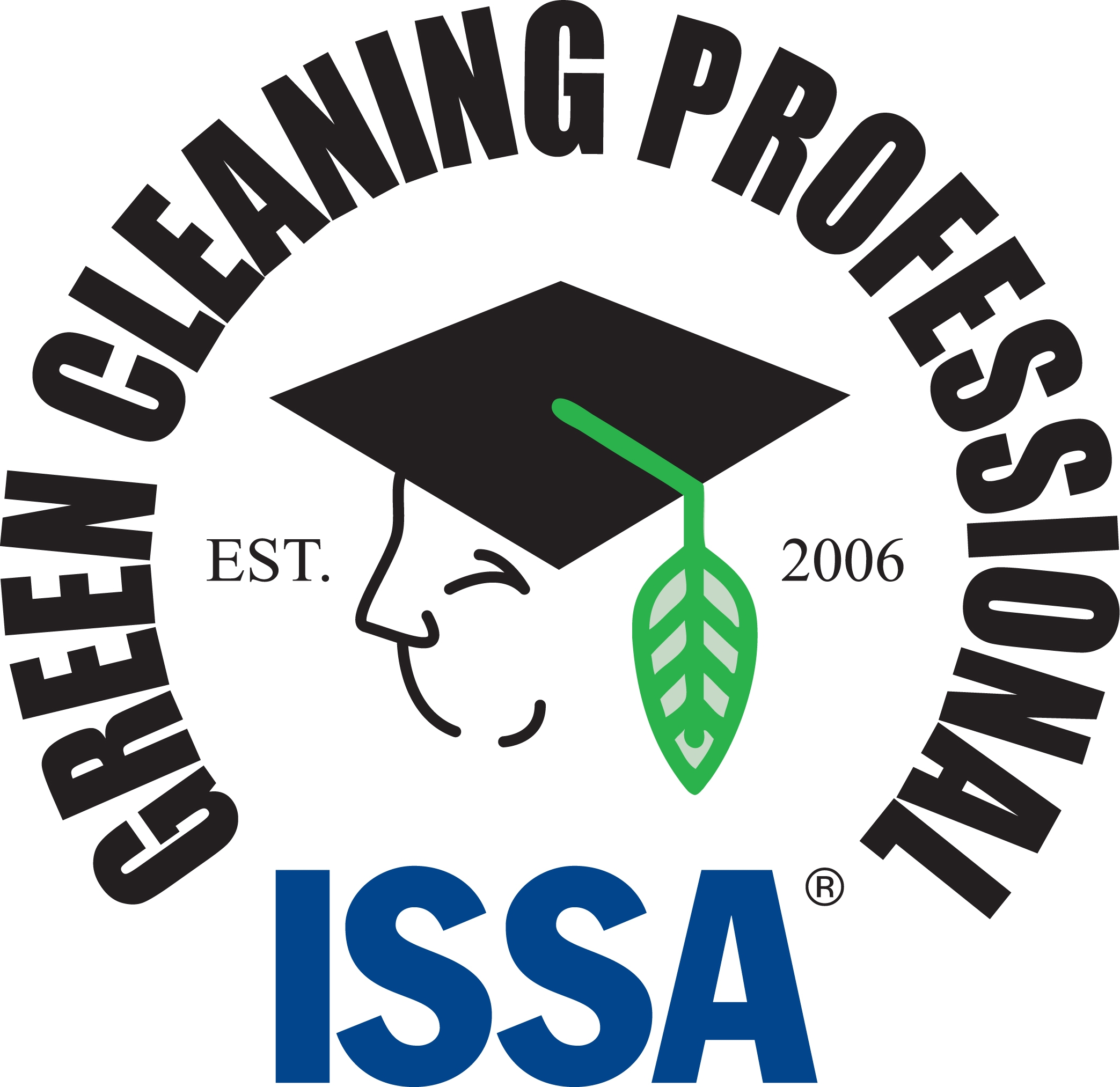 green cleaning professional logo and link