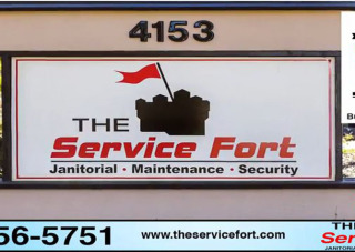 the service fort sign picture