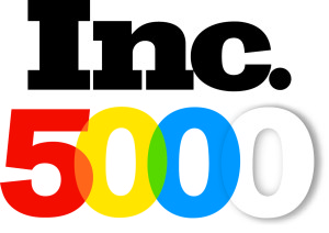 inc 500 fastest growing companies logo and link