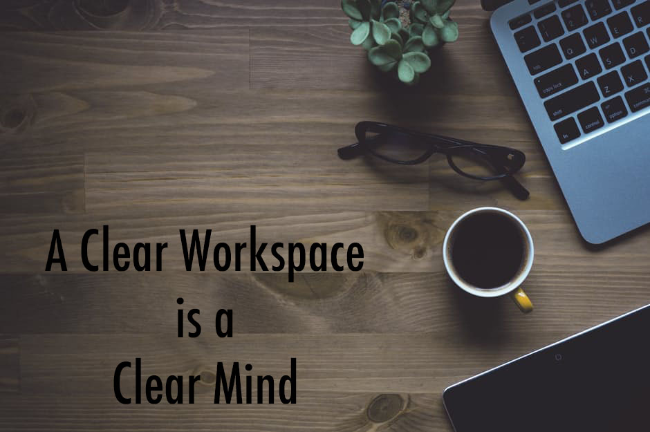 clean workspaces picture