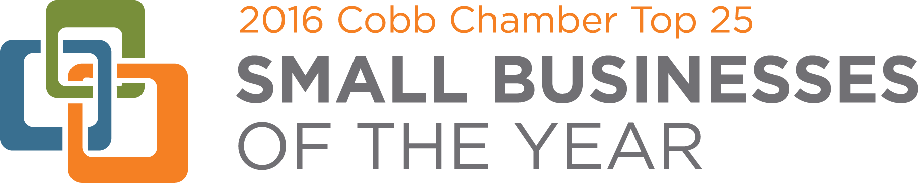 cobb county small business of the year logo