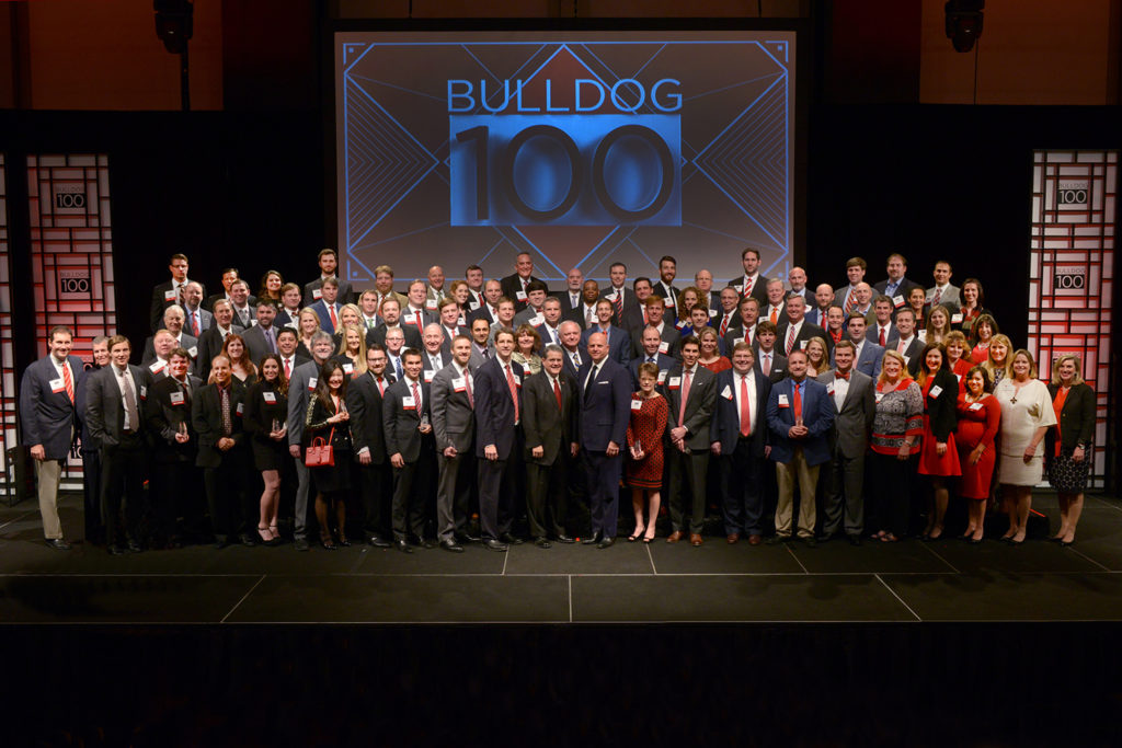 bulldog top 100 businesses picture
