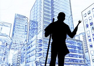 buildings with integrated facility management worker